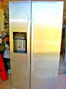 Refrigerator Used Whirlpool Side By Side Stainless Steel