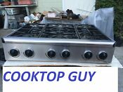 Dacor 36 Stainless Range Top In Excellent In Los Angeles