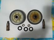 Two Maytag Dryer Parts Drum Support Wheels Part Number Ap4008534