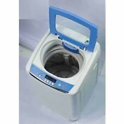 Portable Washer White Washing Machine Air Drying Apartment Size 0 9 Cu Ft