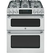Ge Caf Series Cgs990set Stainless Steel 30 In Gas Kitchen Ranges
