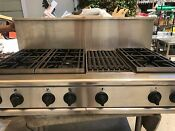 Ge Monogram Pro Stainless Propane Rangetop 6 Grill In Los Angeles