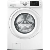 Samsung 4 2 Cu Ft High Efficiency Stackable Front Load Washer White New