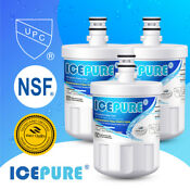 3 Pack Compatible With Lg Lt500p 5231ja2002a Adq72910907 Icepure Water Filter