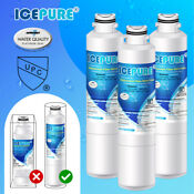 Fit For Samsung Da29 00020b Haf Cin Exp Refrigerator Water Filter 3 Pack Icepure
