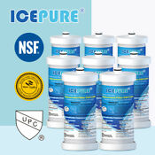 8 Pack Fit For Frigidaire Wf1cb Wfcb Rg100 Ngrg2000 Icepure Water Filter