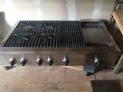Thermador 48 Rangetop With 4 Grill N Griddle Model Gps484ggs New Spark Modu