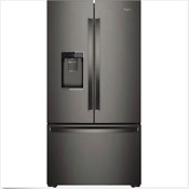 Whirlpool Wrf954cihv 36 Counter Depth French Door Refrigerator Black Stainless