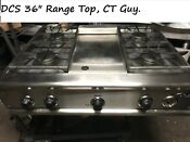 Dcs 36 Stainless Range Top 4 Griddle In Los Angeles