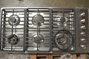 Miele 42 Stainless Steel 6 Burner Gas Cooktop Km3485gss