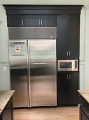 Sub Zero 632 O Side By Side Refrigerator Stainless Steel