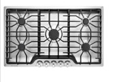 Frigidaire Ffgc3626ss 36 Gas Cooktop Features 5 Sealed Burners