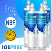 Fit For 4396508 4396510 Nlc240v 4392857 Rfc0500a Refrigerator Water Filter 4pack