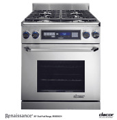 Dacor Er30dsrsch Ng H Renaissance 30 Pro Style Natural Gas Range Stainless