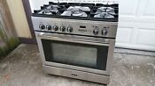 Aga 36 Pro Stainless Steel Dual Fuel Range W Convection Ampro36df Ss