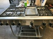 Thermador 48 Stainless Rangetop 6 Griddle In Los Angeles