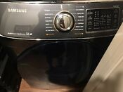 Samsung 7 5 Cu Ft Front Load Black Stainless Steam Gas Dryer 14 Cycle Euc