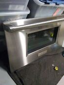 Wolf 36 Inch Range Oven Door With Glass And Handle