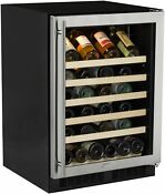 Marvel Ml24ws0r 24 W 45 Bottle Built In Single Zone Wine Cooler Stainless