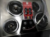 Ge 30 Inch Stainless Steel Cooktop Used Less Than A Year