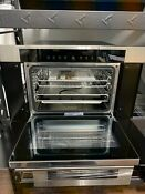 Wolf M Series 30 Inch 1 8 Cu Ft Convection Electric Steam Oven Cso30tm S Th