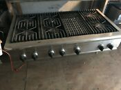 48 Thermador Rangetop 6 Grill Round In La