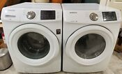 Samsung Front Load Washer And Gas Dryer Wf42h5000aw Dv42h5000gw