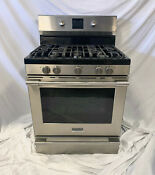 Frigidaire Fpgf3077qf Professional Series 30 Gas Range Convection Oven Tampa