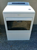 Whirlpool Wed7500gw 27 Electric Dryer With Accudry Sensor Drying White
