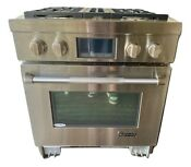 Jenn Air 30 Dual Fuel Freestanding Range Oven Stove Professional Commercial
