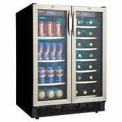 Danby Dbc2760 24 W 27 Bottle Capacity Built In Beverage Center Stainless Steel