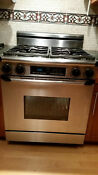 Dacor Gas Range Erg30 Stainless Steel Oven Not Working Good For Parts