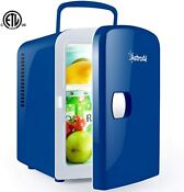 4 Liter Mini Fridge Portable Ac Dc Powered Thermoelectric System Cooler