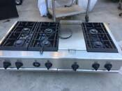 Ge 48 Stainless Rangetop 6 Griddle Propane In La