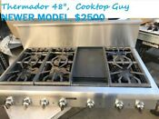 Thermador 48 Stainless Range Top 6 Griddle In Los Angeles