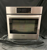 Bosch Benchmark Series Hblp451uc 30 Inch Single Electric Convection Wall Oven