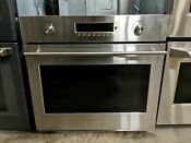 Ge Monogram Zet1shss 30 Inch Single Electric Wall Oven With Wifi Connect