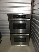 Double Oven Kitchen Aid Convection Stainless Steel Collection Only From 45014