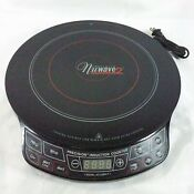 Nuwave Precision 2 Induction Cooking System Stove Cooktop Black Q9