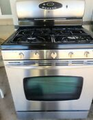 Freshly Sanatized Maytag 30 Gas Range With 5 Top Burners Conduction Oven