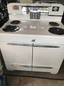 Mid Century L H Lindeman Hoverson Later Thermador Electric Range