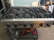 36 Stainless Viking Range Top 6 Propane Or Nat Gas Open In Los Angeles