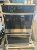Ge Profile 30 Stainless Steel Built In Double Wall Oven Jtd3000snss