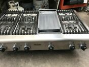Thermador 48 Ss Pan Rangetop 6 Griddle In La