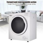 Electric Clothes Dryer Machine Portable Small Front Loading Laundry Dry Machine