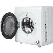 Electric 2 65 Cu Ft Compact Tumble Dryer 9 Lbs Capacity Steel Wall Mounted
