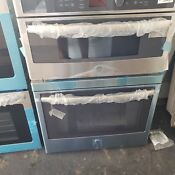 Ge Jt3800shss 30 Stainless Microwave Oven Combo Wall Oven No Dents Or Blemish