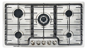 36 Built In Gas Cooktop 5 Burner Stainless Steel Lpg Ng Gas Hob Stove Gascooker