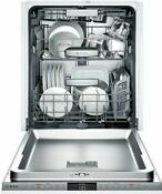 Bosch 800 Series Shvm98w73n Panel Ready Integrated Dishwasher Myway 3rd Rack