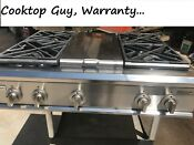 Ge Monogram 36 Pro Rangetop 4 Grill N Gas In Los Angeles